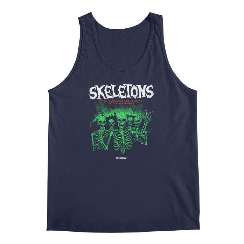 Skeletons Men's Tank by hillarywhiterabbit's Artist Shop