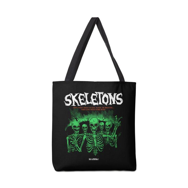 Skeletons Accessories Bag by hillarywhiterabbit's Artist Shop