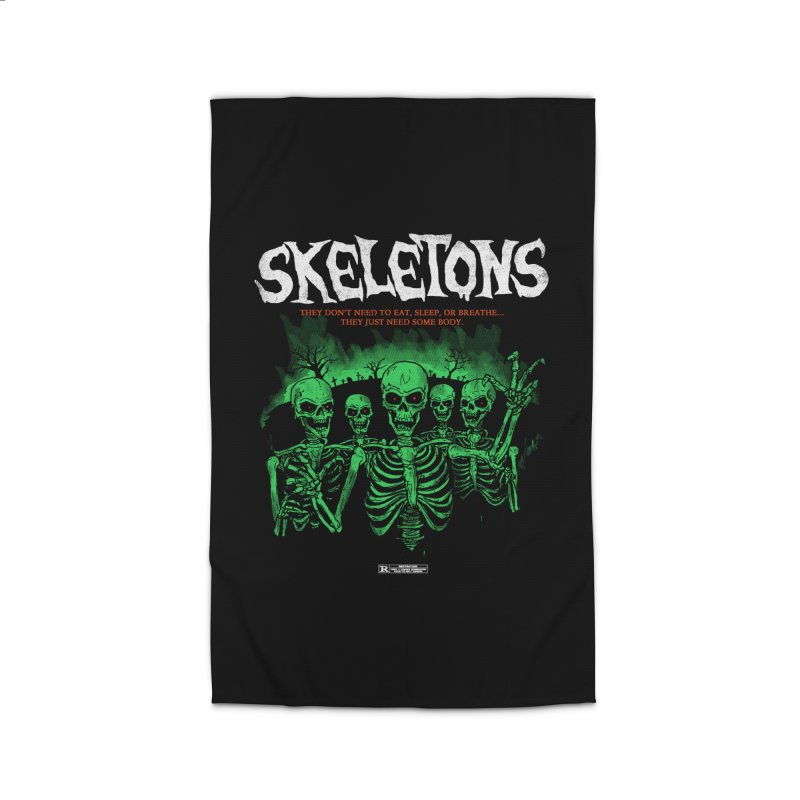 Skeletons Home Rug by hillarywhiterabbit's Artist Shop