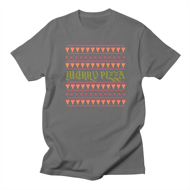 Merry Pizza Women's Unisex T-Shirt by hillarywhiterabbit's Artist Shop
