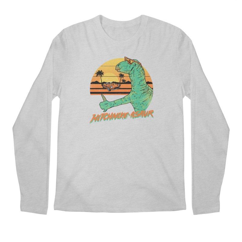 Hitchhike-Asaur Men's Longsleeve T-Shirt by hillarywhiterabbit's Artist Shop