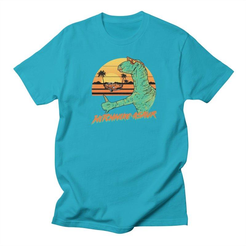 Hitchhike-Asaur Men's T-shirt by hillarywhiterabbit's Artist Shop