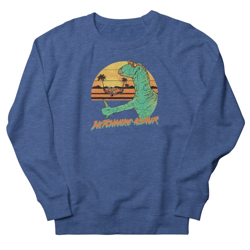 Hitchhike-Asaur Women's Sweatshirt by hillarywhiterabbit's Artist Shop