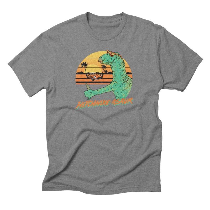 Hitchhike-Asaur Men's Triblend T-shirt by hillarywhiterabbit's Artist Shop
