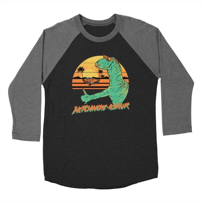 Hitchhike-Asaur Men's Baseball Triblend T-Shirt by hillarywhiterabbit's Artist Shop