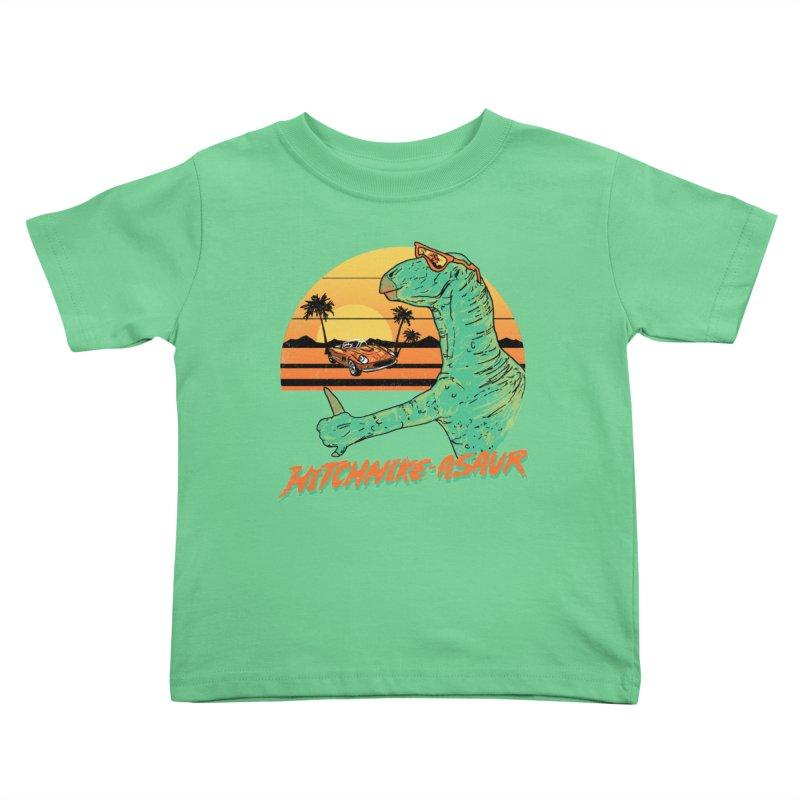 Hitchhike-Asaur Kids Toddler T-Shirt by hillarywhiterabbit's Artist Shop