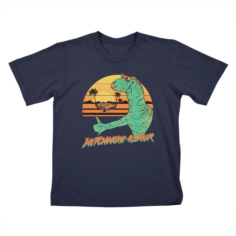 Hitchhike-Asaur Kids T-shirt by hillarywhiterabbit's Artist Shop