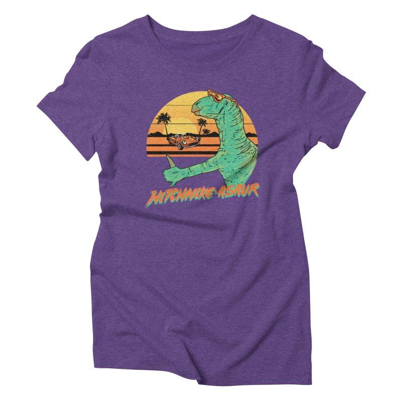Hitchhike-Asaur Women's Triblend T-shirt by hillarywhiterabbit's Artist Shop
