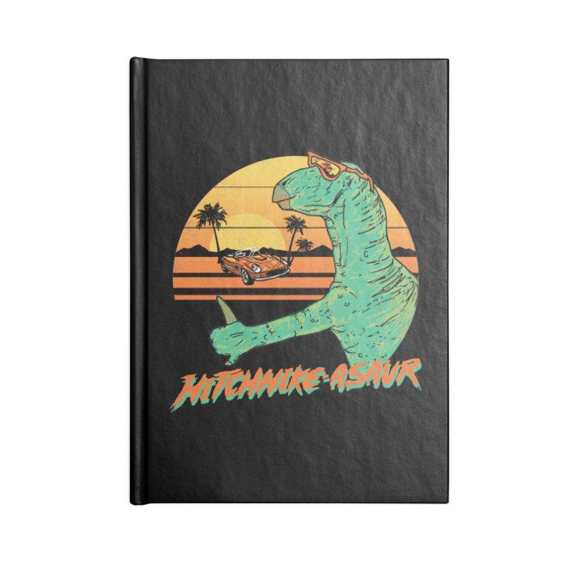 Hitchhike-Asaur Accessories Notebook by hillarywhiterabbit's Artist Shop