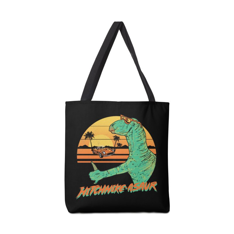 Hitchhike-Asaur Accessories Bag by hillarywhiterabbit's Artist Shop