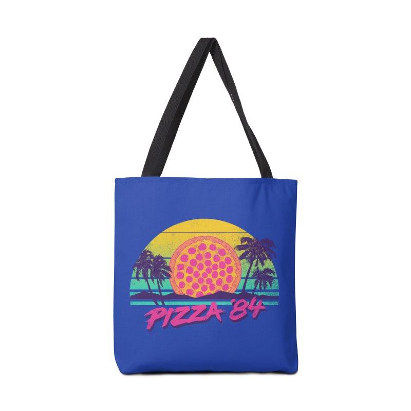 Pizza '84 Accessories Bag by hillarywhiterabbit's Artist Shop