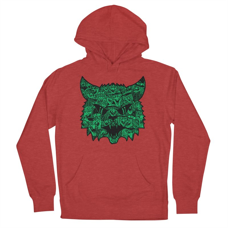 Kitty Witches Women's Pullover Hoody by hillarywhiterabbit's Artist Shop