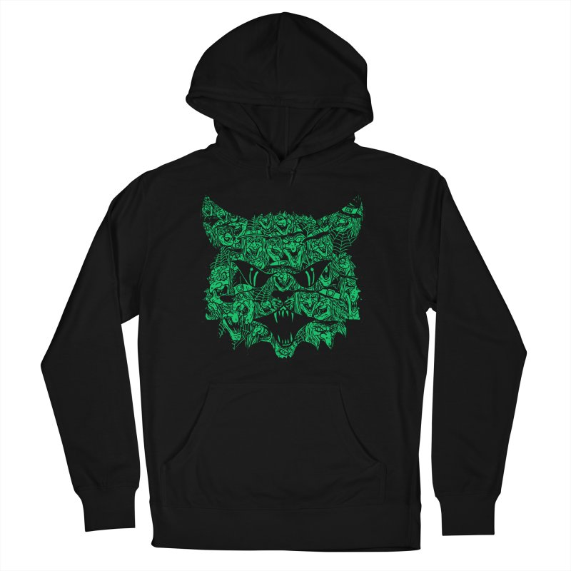 Kitty Witches Men's Pullover Hoody by hillarywhiterabbit's Artist Shop