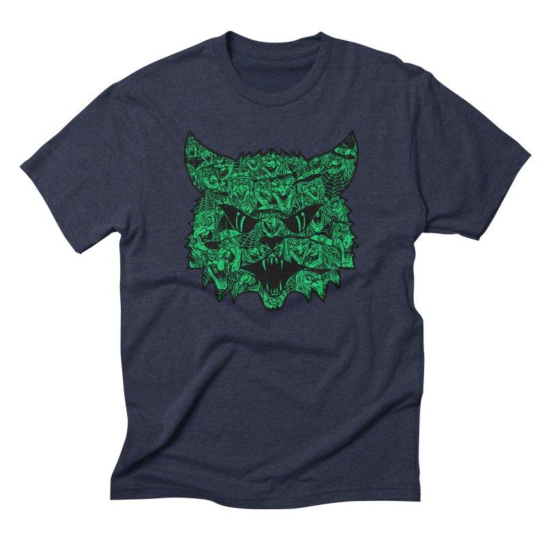 Kitty Witches Men's Triblend T-shirt by hillarywhiterabbit's Artist Shop
