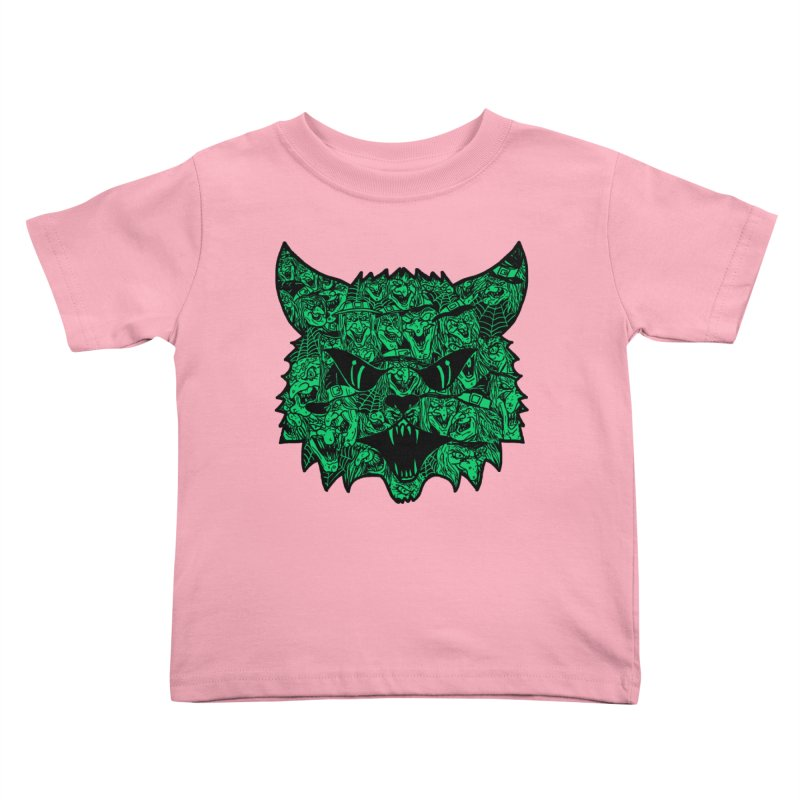 Kitty Witches Kids Toddler T-Shirt by hillarywhiterabbit's Artist Shop