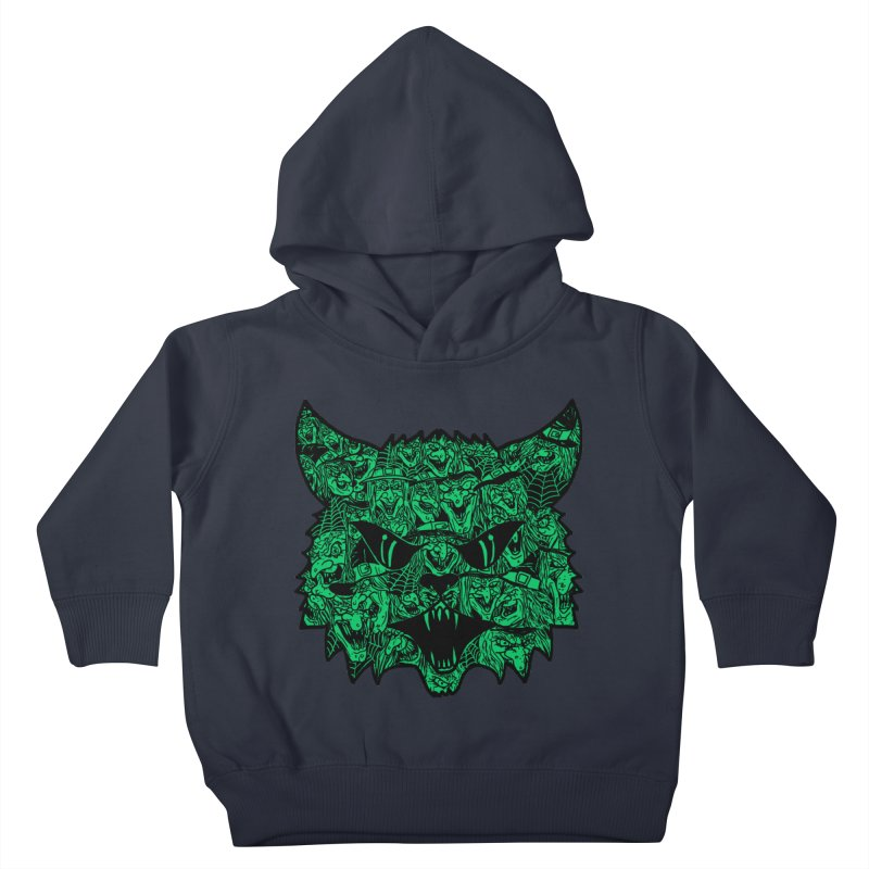 Kitty Witches Kids Toddler Pullover Hoody by hillarywhiterabbit's Artist Shop