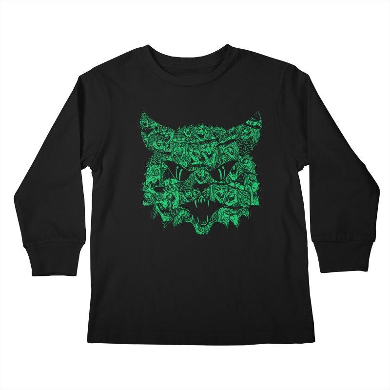 Kitty Witches Kids Longsleeve T-Shirt by hillarywhiterabbit's Artist Shop
