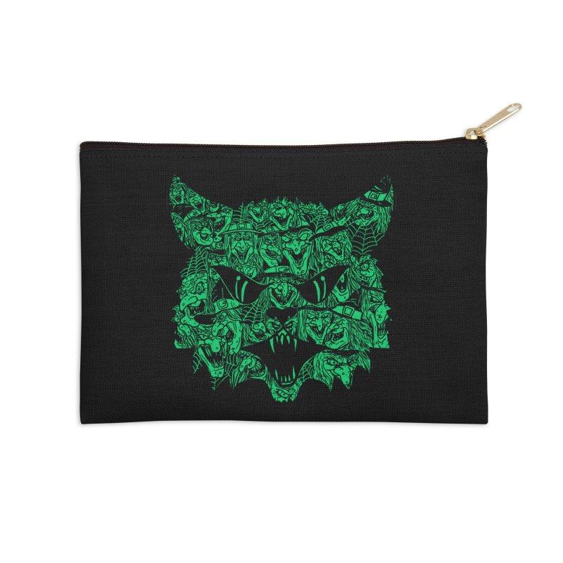 Kitty Witches Accessories Zip Pouch by hillarywhiterabbit's Artist Shop
