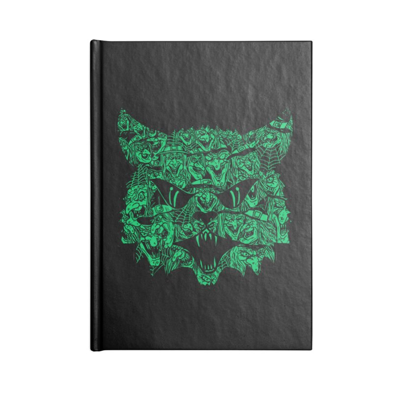 Kitty Witches Accessories Notebook by hillarywhiterabbit's Artist Shop