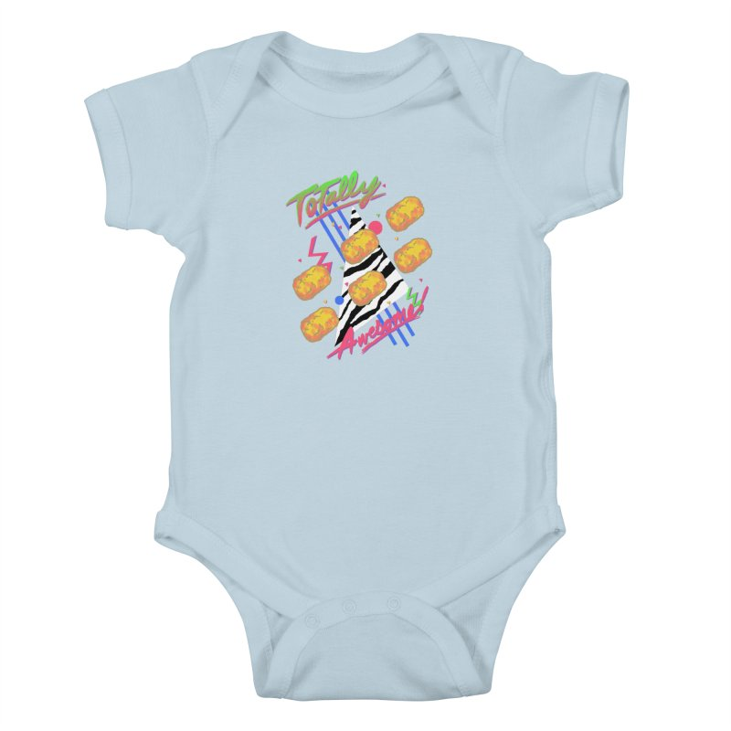 TOTally Awesome Kids Baby Bodysuit by hillarywhiterabbit's Artist Shop