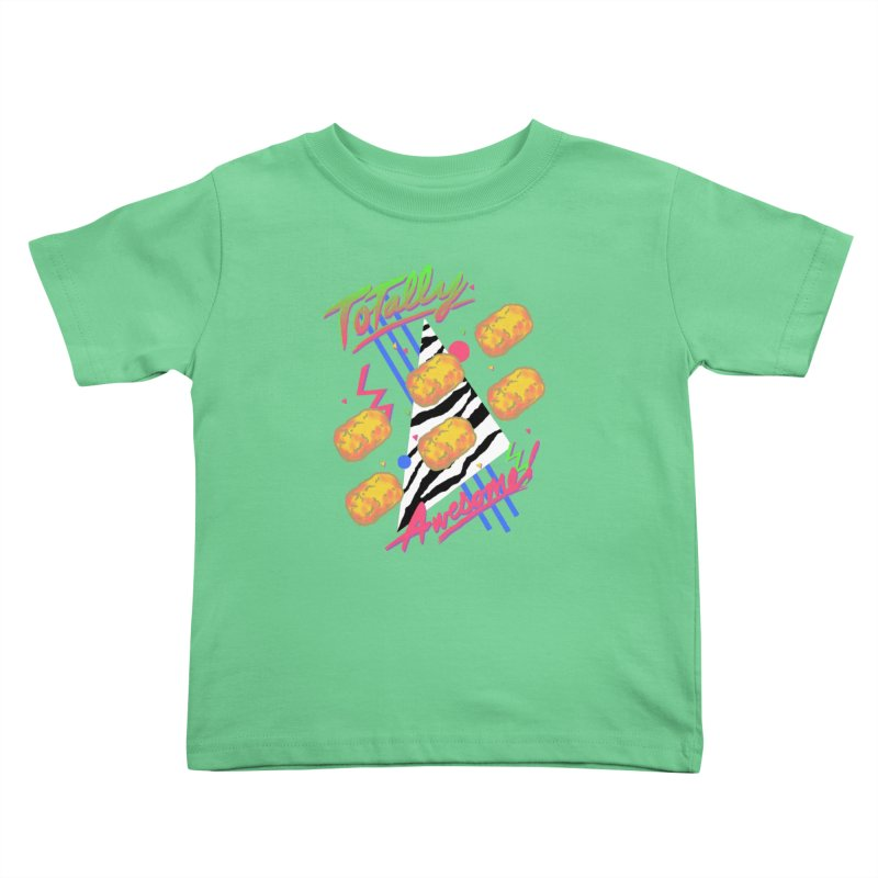 TOTally Awesome Kids Toddler T-Shirt by hillarywhiterabbit's Artist Shop