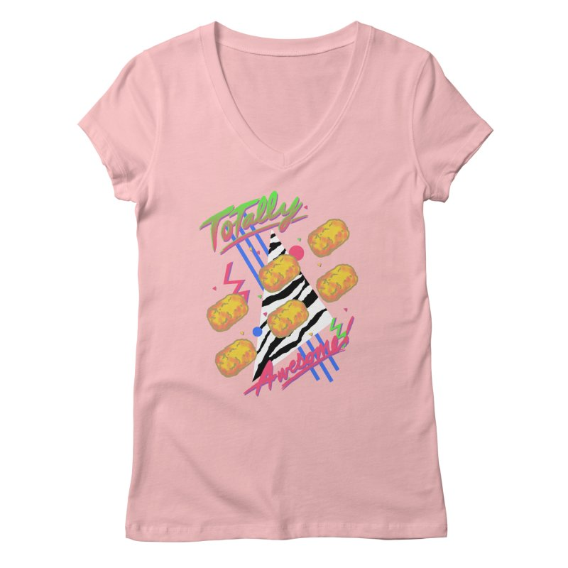 TOTally Awesome Women's V-Neck by hillarywhiterabbit's Artist Shop