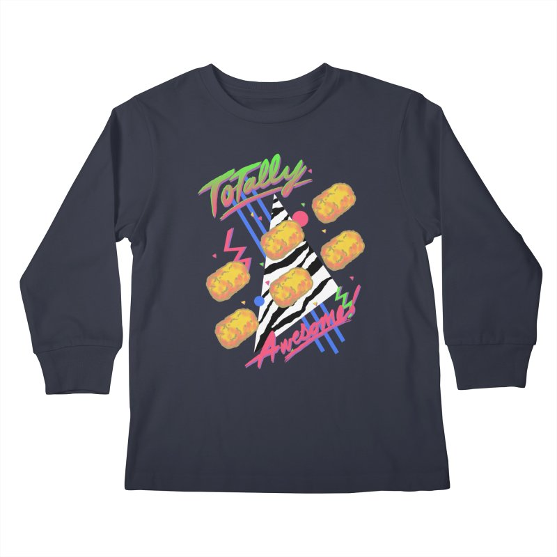 TOTally Awesome Kids Longsleeve T-Shirt by hillarywhiterabbit's Artist Shop