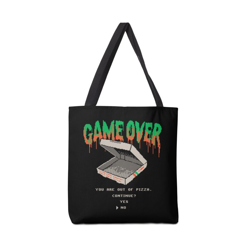 You Are Out Of Pizza Accessories Bag by hillarywhiterabbit's Artist Shop