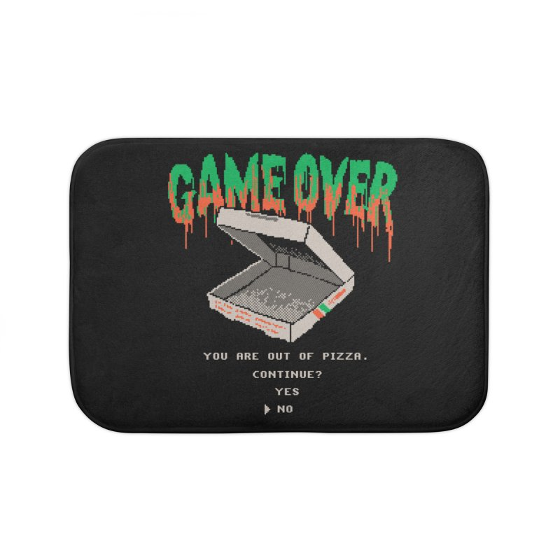 You Are Out Of Pizza Home Bath Mat by hillarywhiterabbit's Artist Shop