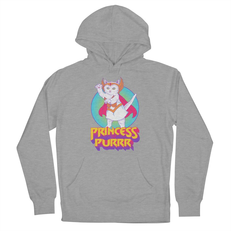 Princess Of Purrr Men's Pullover Hoody by hillarywhiterabbit's Artist Shop