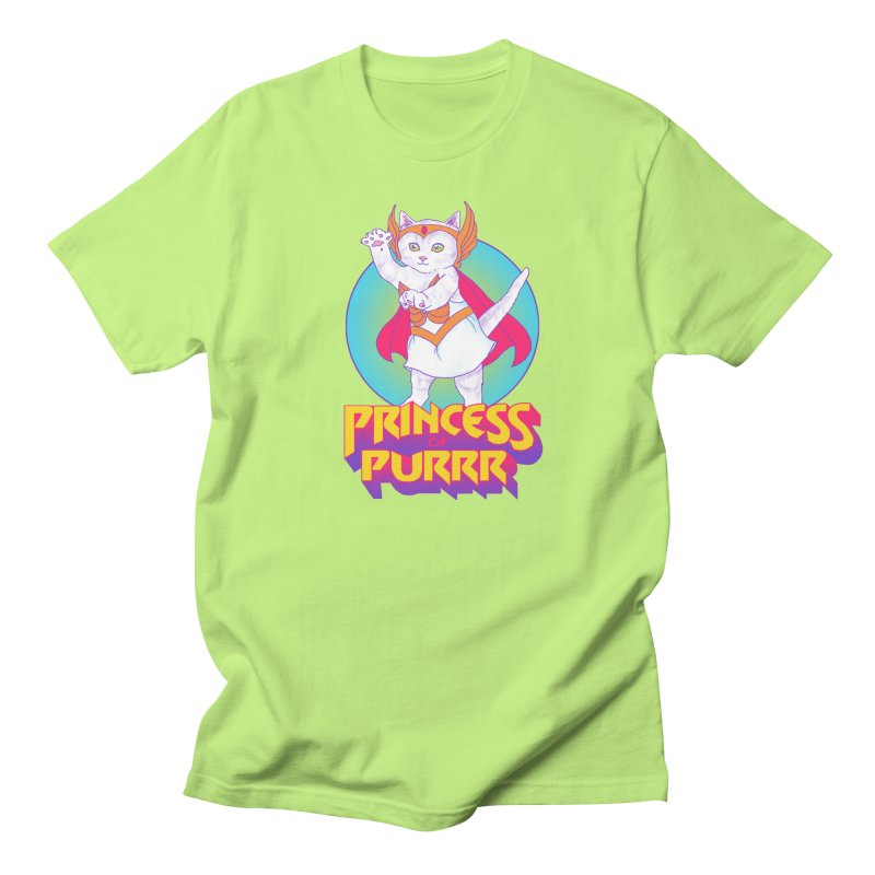 Princess Of Purrr Women's Unisex T-Shirt by hillarywhiterabbit's Artist Shop