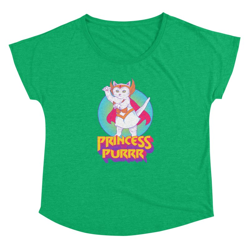 Princess Of Purrr Women's Dolman by hillarywhiterabbit's Artist Shop