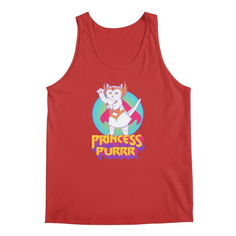 Princess Of Purrr Men's Tank by hillarywhiterabbit's Artist Shop