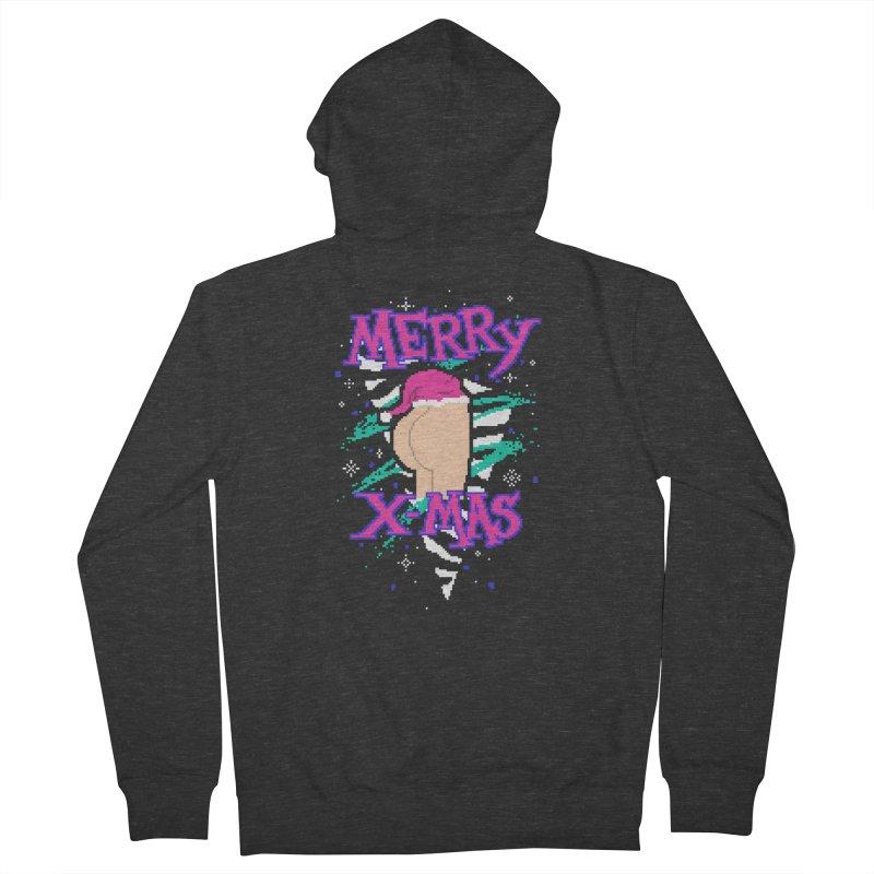 Merry X-mas Women's Zip-Up Hoody by hillarywhiterabbit's Artist Shop