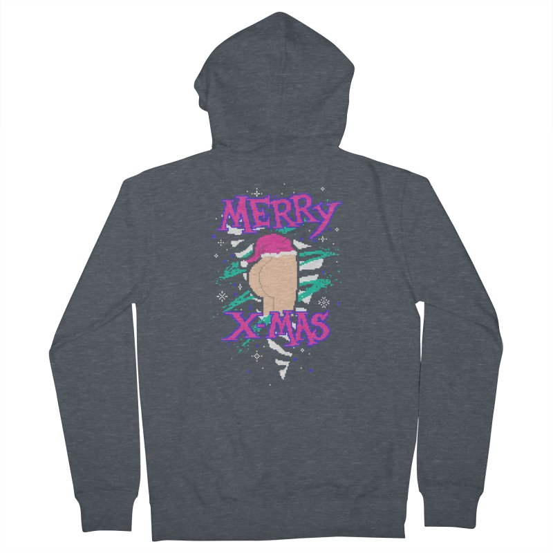 Merry X-mas Men's Zip-Up Hoody by hillarywhiterabbit's Artist Shop