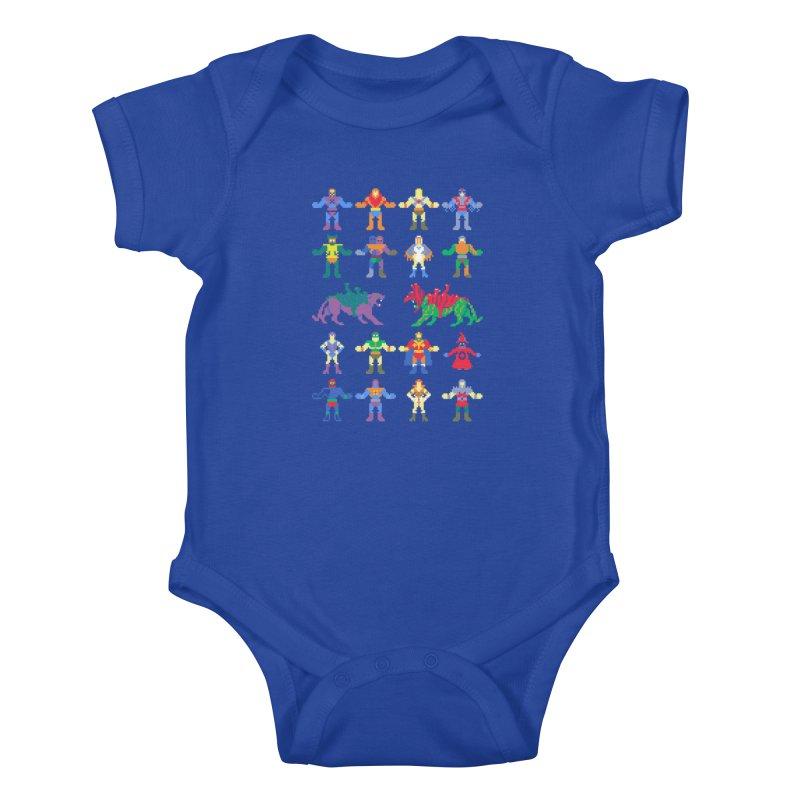Merry Masters Kids Baby Bodysuit by hillarywhiterabbit's Artist Shop