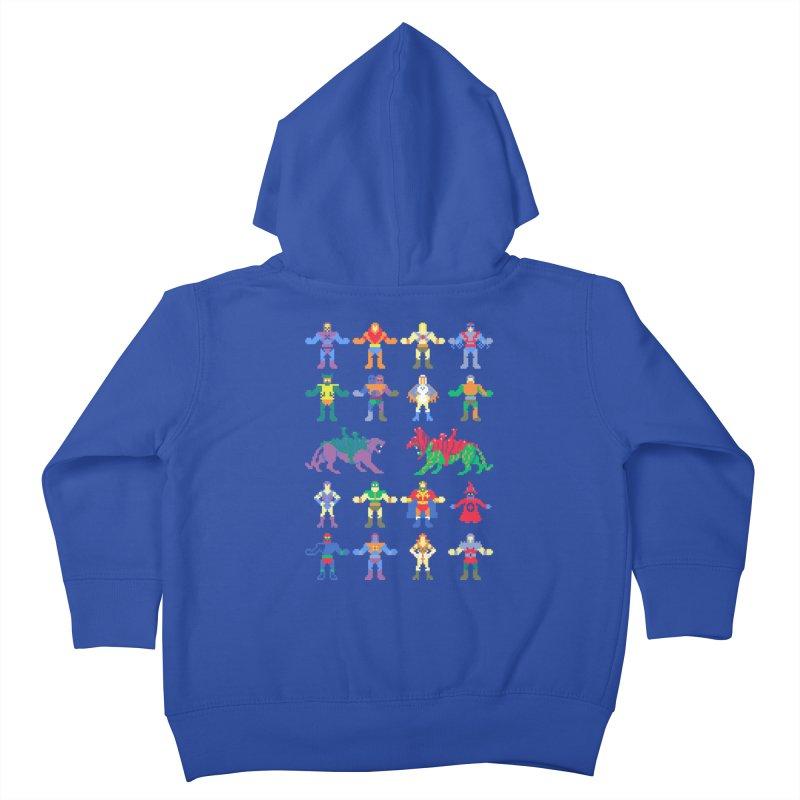 Merry Masters Kids Toddler Zip-Up Hoody by hillarywhiterabbit's Artist Shop