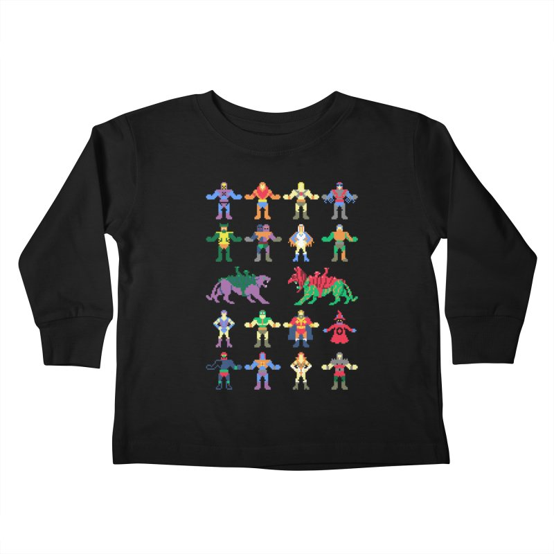 Merry Masters Kids Toddler Longsleeve T-Shirt by hillarywhiterabbit's Artist Shop