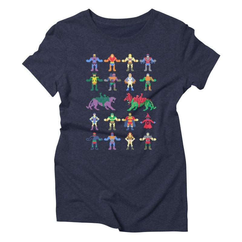 Merry Masters Women's Triblend T-shirt by hillarywhiterabbit's Artist Shop