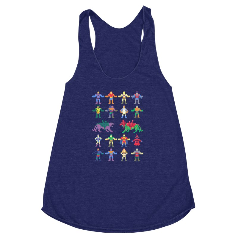 Merry Masters Women's Racerback Triblend Tank by hillarywhiterabbit's Artist Shop