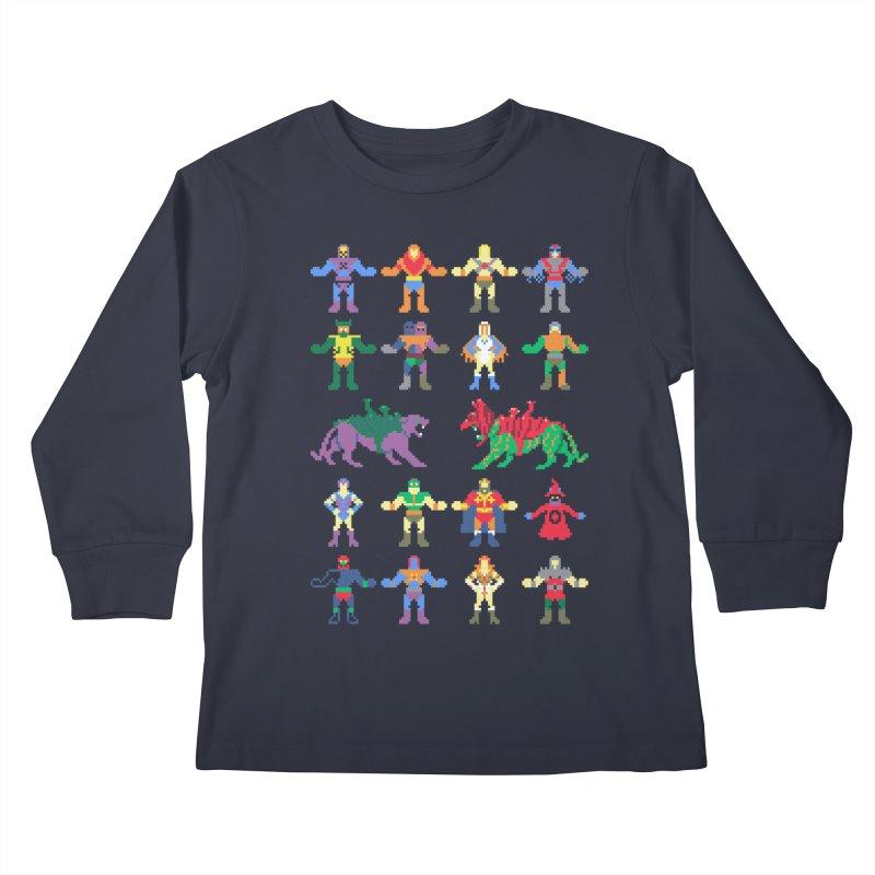 Merry Masters Kids Longsleeve T-Shirt by hillarywhiterabbit's Artist Shop