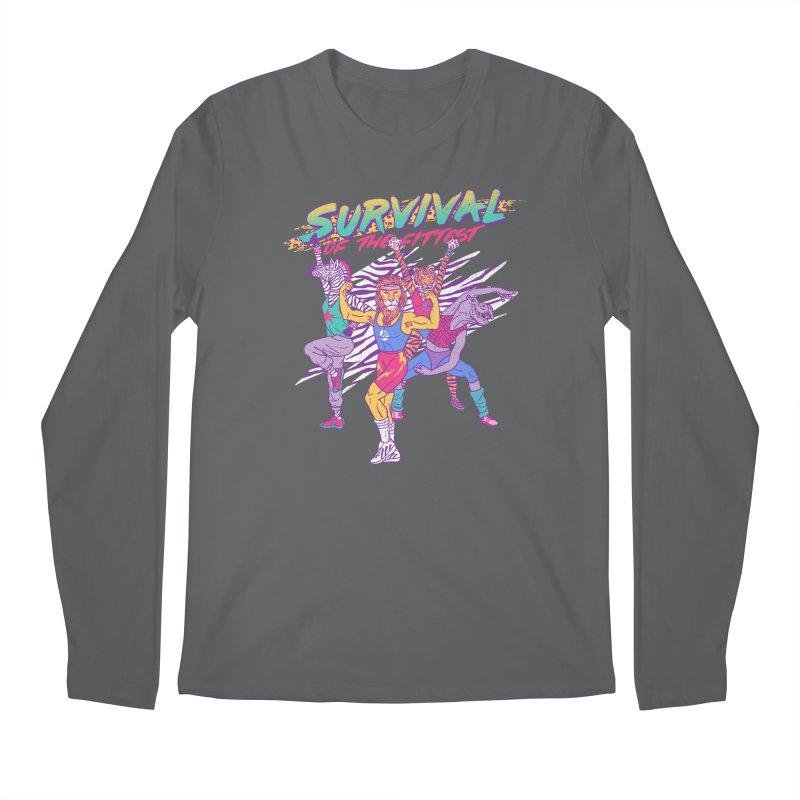 Survival Of The Fittest Men's Longsleeve T-Shirt by hillarywhiterabbit's Artist Shop