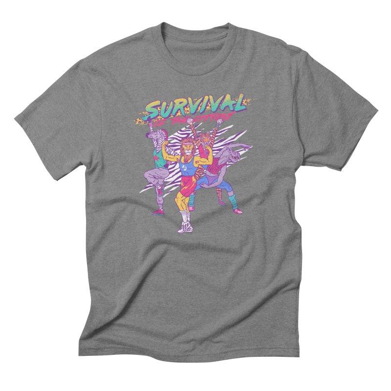 Survival Of The Fittest Men's Triblend T-shirt by hillarywhiterabbit's Artist Shop