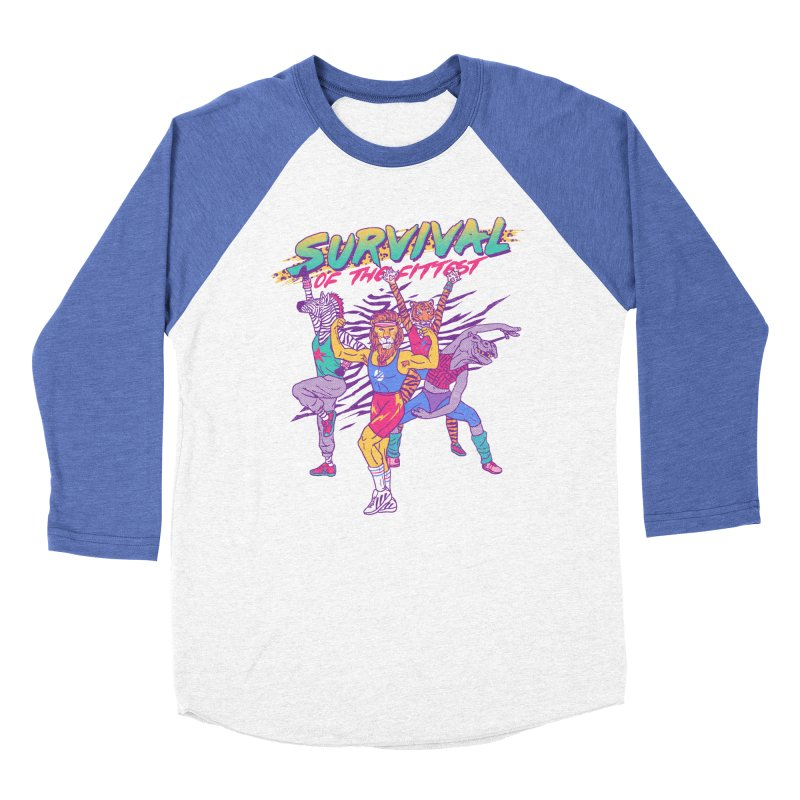 Survival Of The Fittest Women's Baseball Triblend T-Shirt by hillarywhiterabbit's Artist Shop