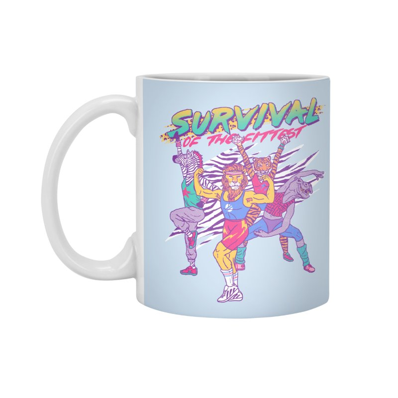 Survival Of The Fittest Accessories Mug by hillarywhiterabbit's Artist Shop