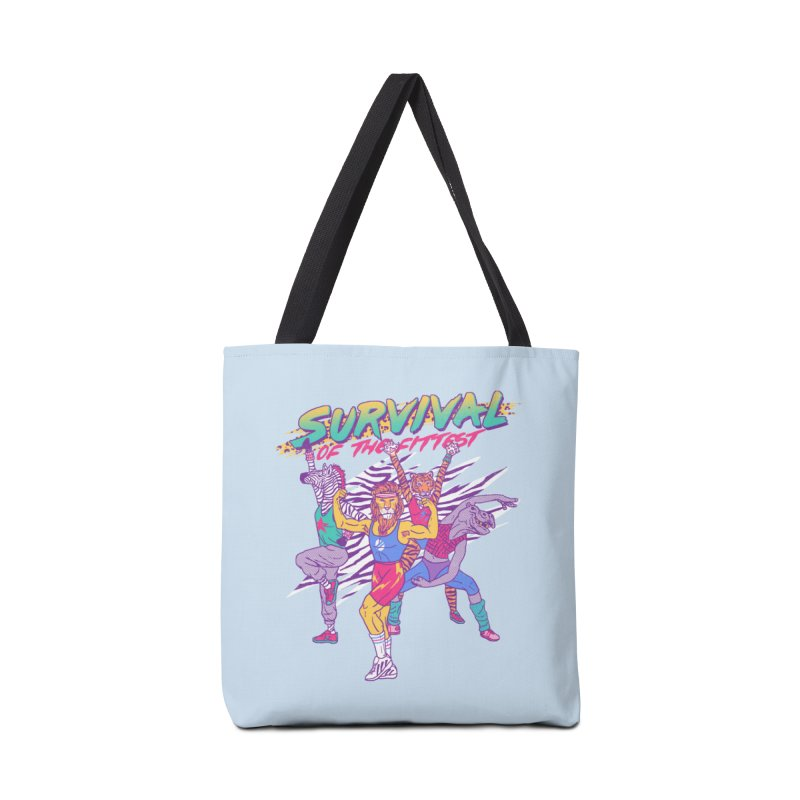 Survival Of The Fittest Accessories Bag by hillarywhiterabbit's Artist Shop