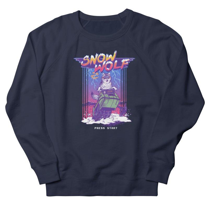 Snow Wolf Women's Sweatshirt by hillarywhiterabbit's Artist Shop