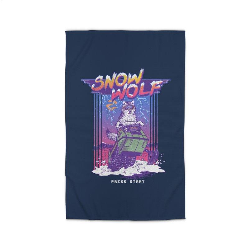 Snow Wolf Home Rug by hillarywhiterabbit's Artist Shop