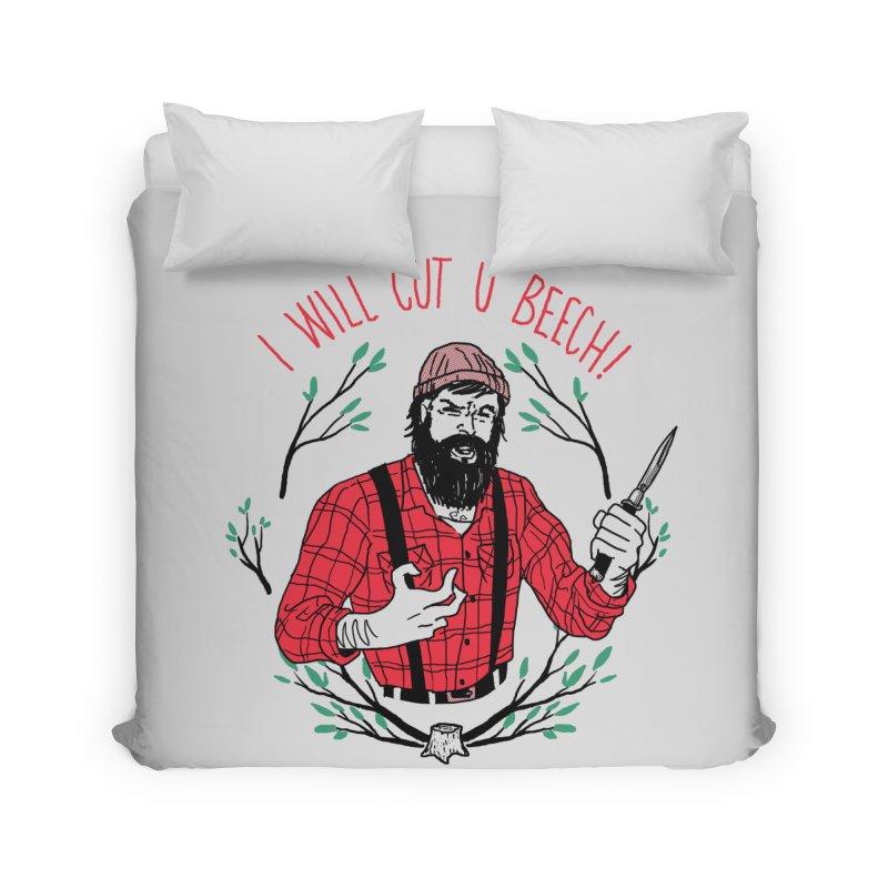 Cut U Beech Home Duvet by hillarywhiterabbit's Artist Shop