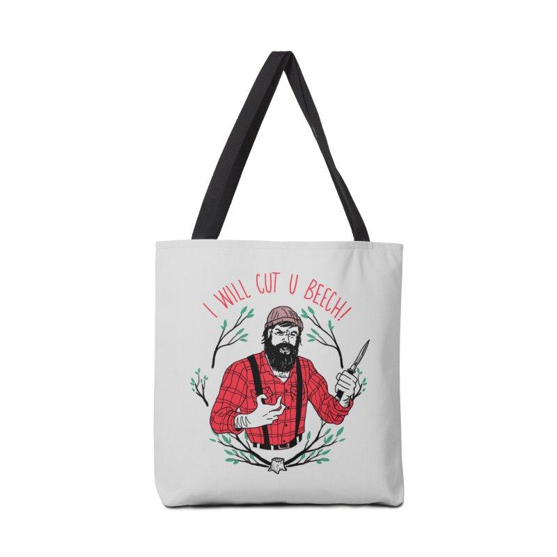 Cut U Beech Accessories Bag by hillarywhiterabbit's Artist Shop